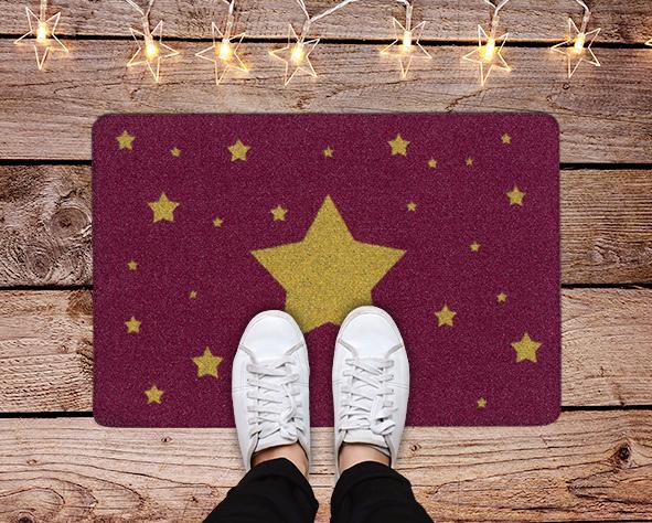 Fußmatte Stern